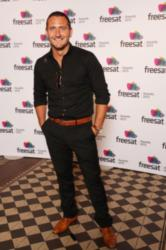 Broadchurch star Will Mellor at the Freesat TV Awards 2013