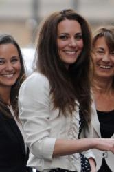 Pippa Middleton, Duchess Catherine and Carole Middleton