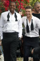 Justin Timberlake with Jay-Z