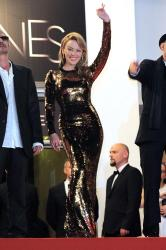 Kylie Minogue at the Holy Motors premiere in Cannes
