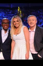 Louis Walsh with his fellow US X Factor judges