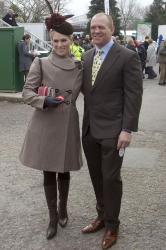 Mike Tindall with Zara