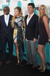 Simon Cowell with X Factor judges