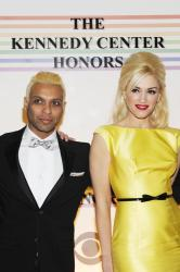Three members of No Doubt (L-R) Tom Dumont, Tony Kanal, Gwen Stefani