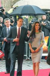 Prince William and Duchess Catherine at the UK premiere of 'African Cats'