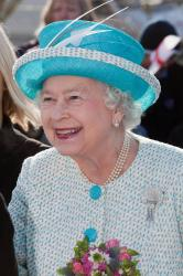 Queen Elizabeth organised the service