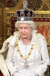 Queen Elizabeth at the Opening Ceremony