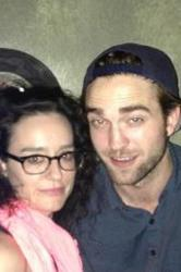 Robert Pattinson and Kennedy in a picture from her Facebook page