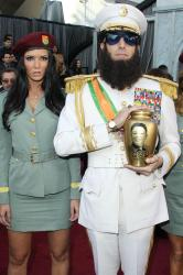 Sacha Baron Cohen as General Aladeen