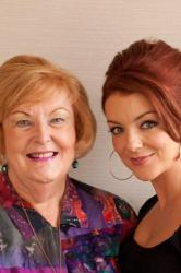 Sheridan Smith with Charmian Biggs