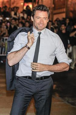 Hugh Jackman and Kelly Brook top the list for fittest body
