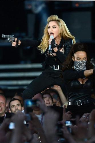 Madonna was booed off stage in Paris