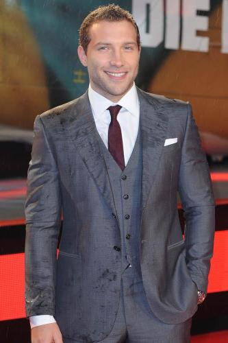 Jai Courtney at Die Hard premiere