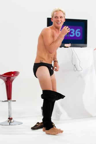 Jamie Laing stripping on a Yahoo! omg! web chat