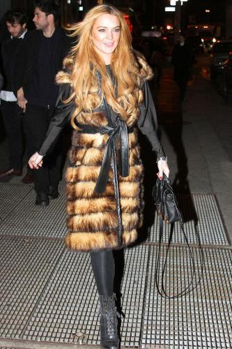 Lindsay Lohan in New York City