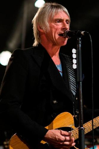 Paul Weller on stage at Abbey Road