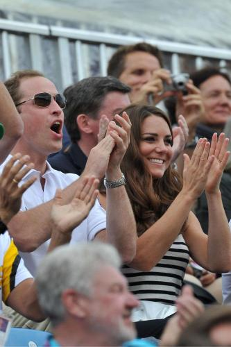 Prince Harry, William and Kate Middleton