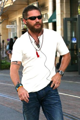 Tom Hardy Has Been Supporting The Face Fuzz of Late