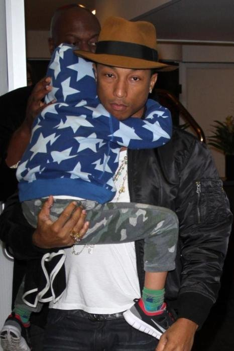 Pharrell Williams' Son Played Piano Aged Three