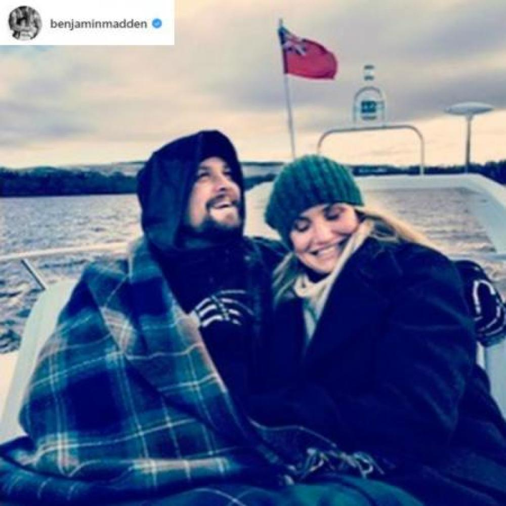 Cameron Diaz and Benji Madden (Instagram)
