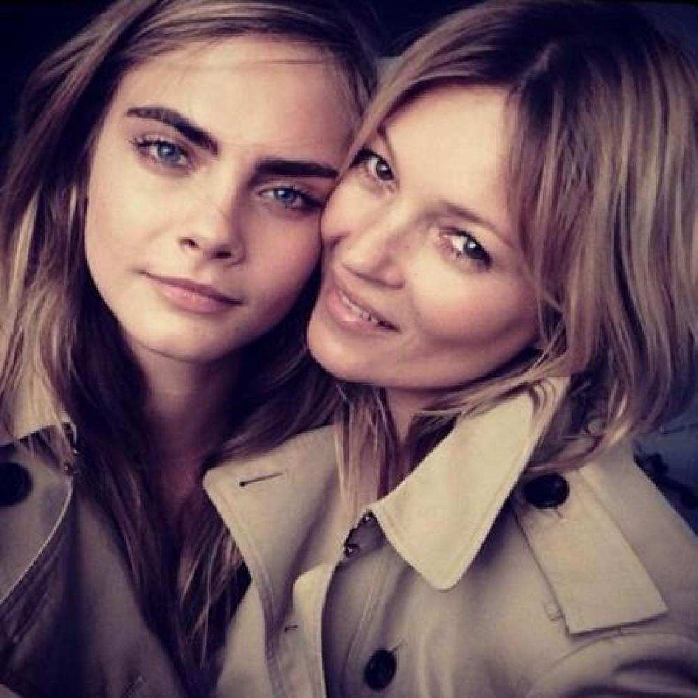 Cara Delevingne and Kate Moss Join Forces for Mango