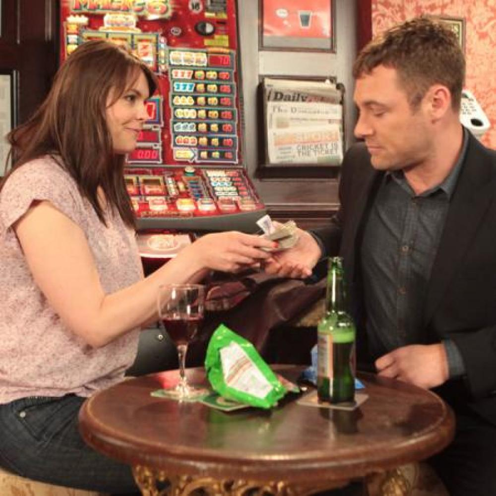 Tracy Barlow and Rob Donovan