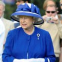 Tearful Queen Elizabeth