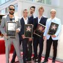 The Backstreet Boys get their Hollywood star