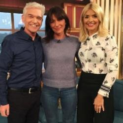 Phillip Schofield, Davina McCall and Holly Willoughby