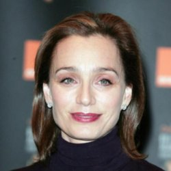 Stout actress Kristin Scott Thomas
