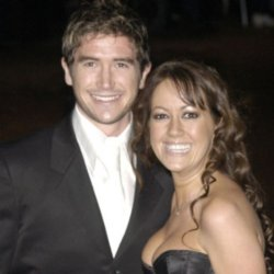 Sheree Murphy and Harry Kewell