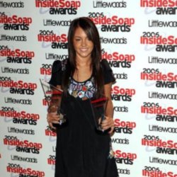 Best Actress winner Lacey Turner