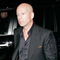 Lazy actor Bruce Willis