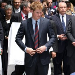 Prince Harry's rock star lover?