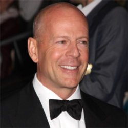 Homely guy Bruce Willis