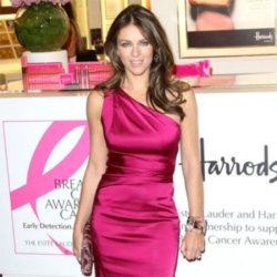 One of Elizabeth Hurley's dresses will be in the auction