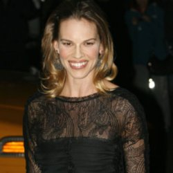 Hilary Swank loves sale shopping