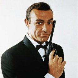 Sean Connery as James Bond in the 1960s