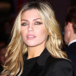 Abbey Clancy has been spotted presenting on TV with her bracelet on