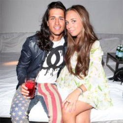 Ollie Locke and Chloe Green