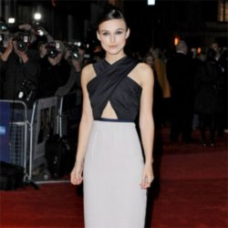 Keira Knightley at the premiere of 'A Dangerous Method'