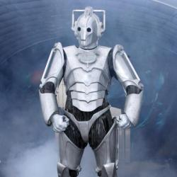 A Cyberman from Doctor Who