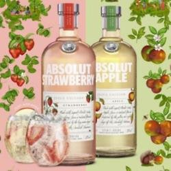 Absolut launch Vodka with real fruit juice and only 54 calories