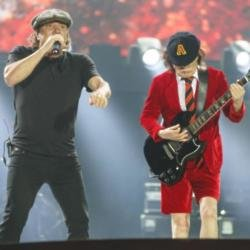 AC/DC on stage in 2015