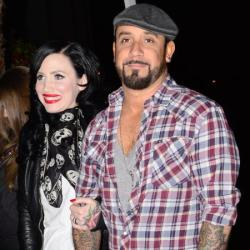 A.J. McLean and wife Rochelle
