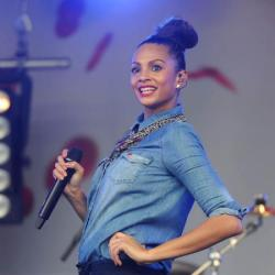 Alesha Dixon works her style staple