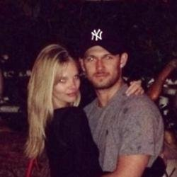 Alex Pettyfer and Marloes Horst (c) Instagram
