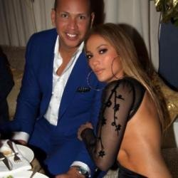 Jennifer Lopez gets intimate