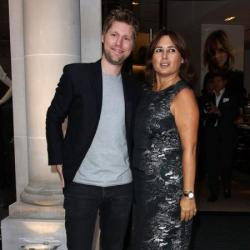 Alexandra Shulman with Christopher Bailey