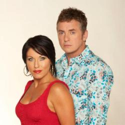 Jessie Wallace and Shane Richie and Kat and Alfie Moon